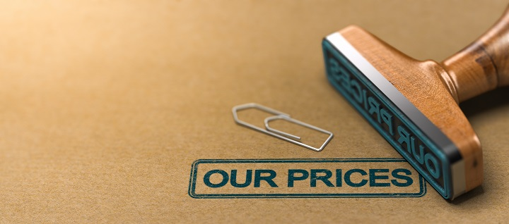 Our prices,